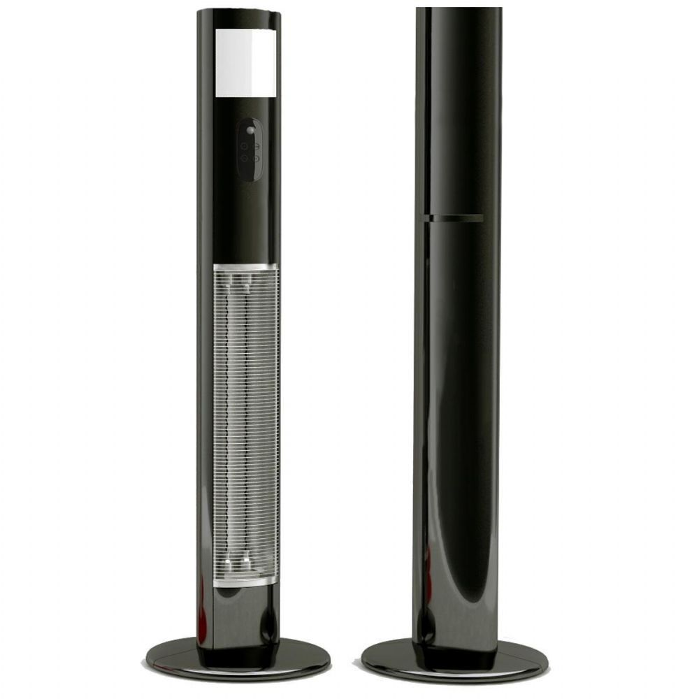 Electric Patio Heater Jupiter Infrared Free Standing Electric Patio