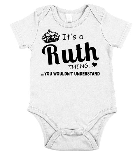 Ruth You Wouldnt Understand Birthday babe ruth shirt 2d8052df534