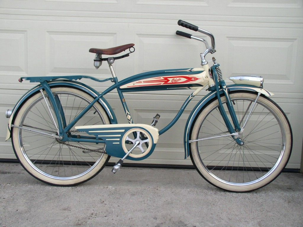 1949 Columbia 5 Star Superb Picture 1 Bicycle Vintage Bicycles Bicycle Panniers