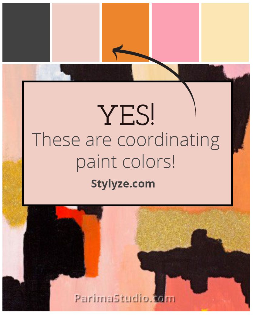 Match harmonious paint colors to your uploaded image! Stylyze.com ...
