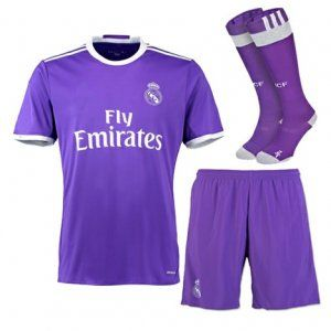 Real Madrid Football Shirt Away Cheap Soccer Uniform (Shirt+Shorts+Socks),all  jerseys are Thailand AAA+ quality,order will be shipped in days after  payment ...