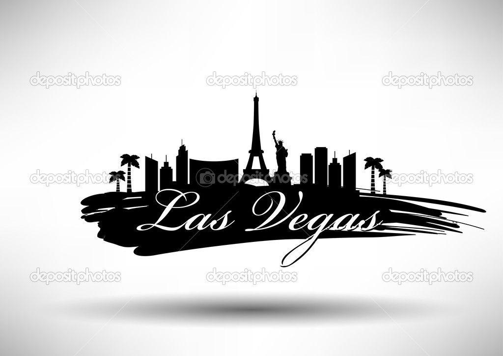 Image Result For Las Vegas Skylines Silhouette Silhouette Tattoos Vegas Skyline Skyline Silhouette