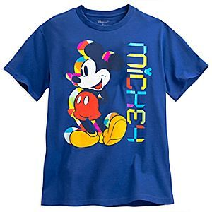 Mickey Mouse Tee for Men - Summer Fun | Disney Store Life's a picnic when when wearing Mickey's cool all-cotton tee with sunny graphic design to match our selection of Summer Fun essentials.