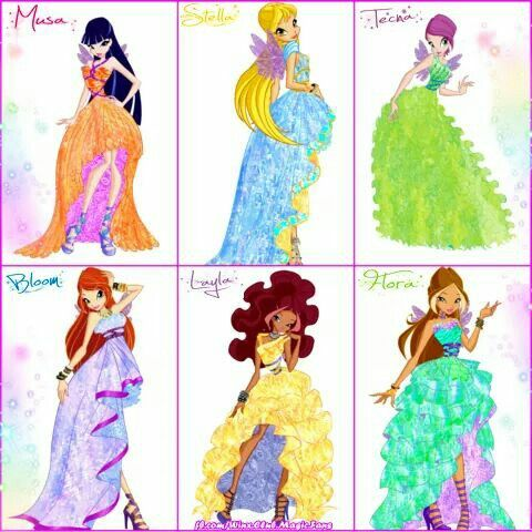 Musa stella tecna bloom flora alisha winx club - Bloom dessin anime ...