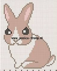 Image result for perler bunny