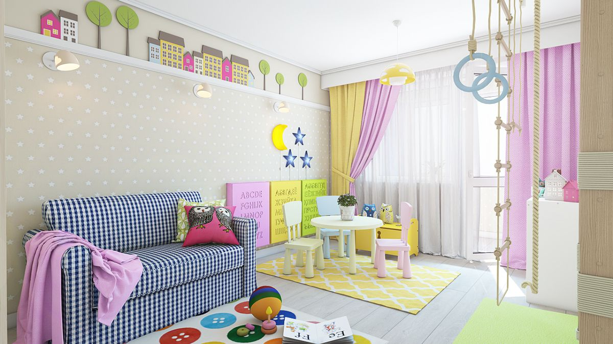 Types Of Kids Room Decorating Ideas And Inspiration For Wall ...