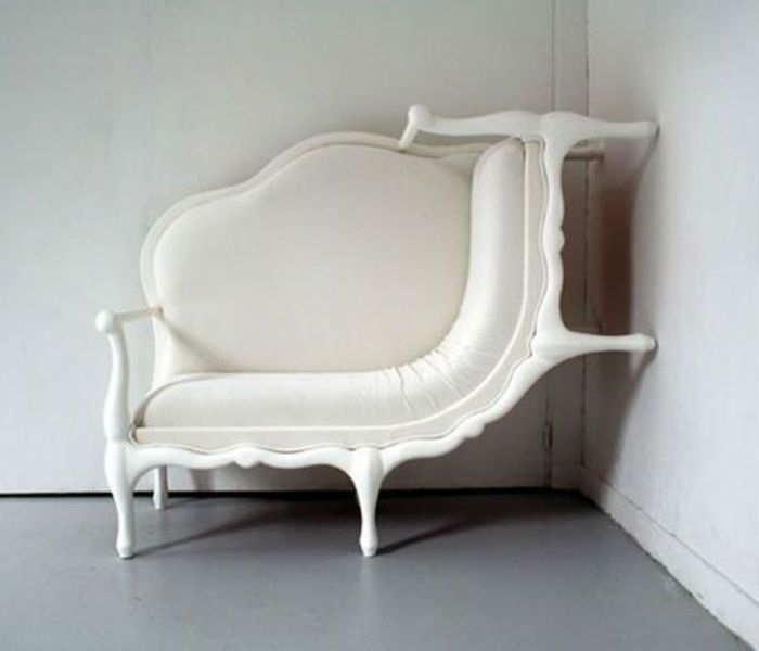 The Canape Sofa by Lila Lang defies logic | Discover more: www.bocadolobo.com