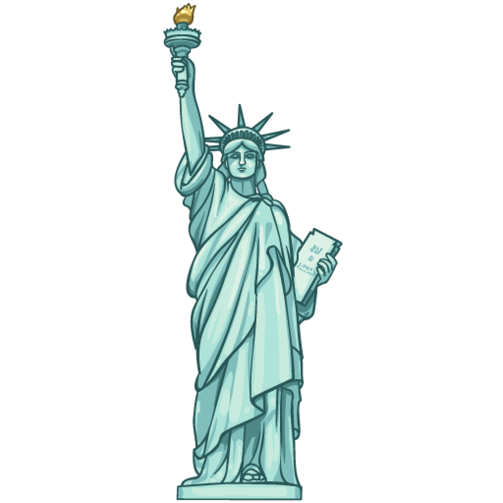 Dessus Coloriage Statue De La Liberte A Imprimer | Haut ...