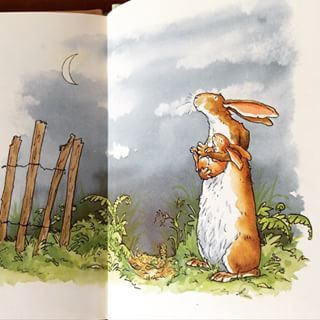 Illustration by Anita Jeram for .....Guess How Much I Love You