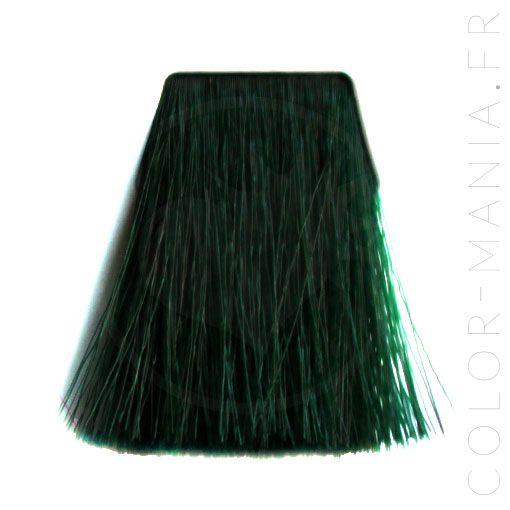 Coloration cheveux vert fonce