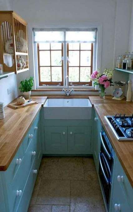 38+ New Ideas For Tiny Kitchen Design Small Apartments Layout #kitchen