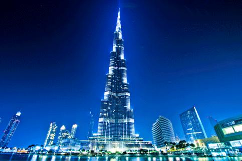 السياحة في دبي مناطق رحلات صور جميلة مناظر طبيعية Dubai City Burj Khalifa Tourist Attraction