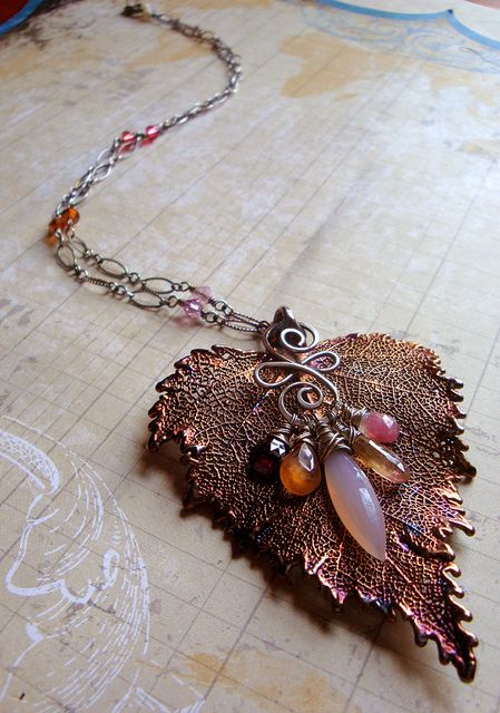 Sylvan Leaves Necklace | Flickr - Photo Sharing!
