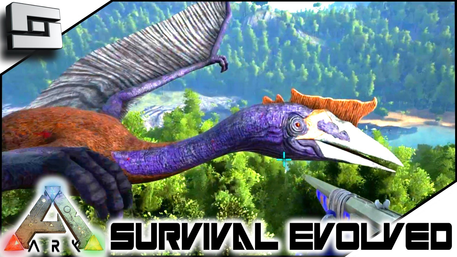 ark survival evolved taming a quetzal s2e46 gameplay ark