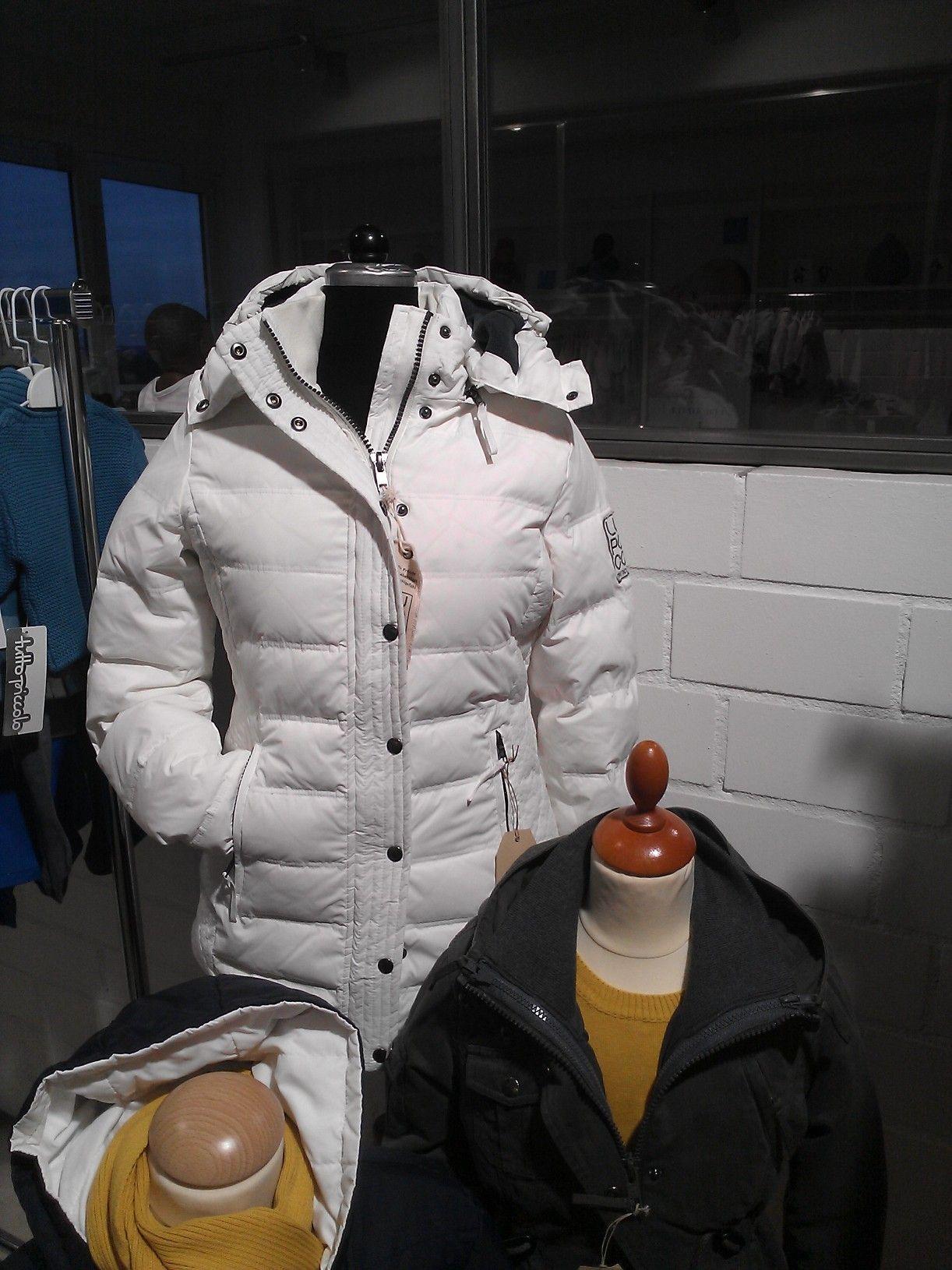 Damen Lupaco Daunenjacke Winter 2014Jacken Weiß PiZTOkXu