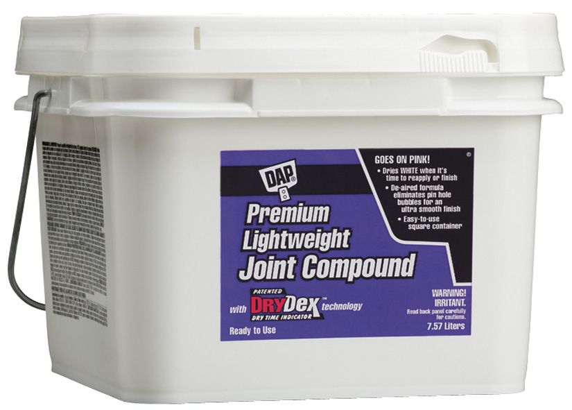 Dap Canada Premium Lightweight Joint Compound With Drydex Dry Time Indicator With Images Joint Paint Prep Spackling