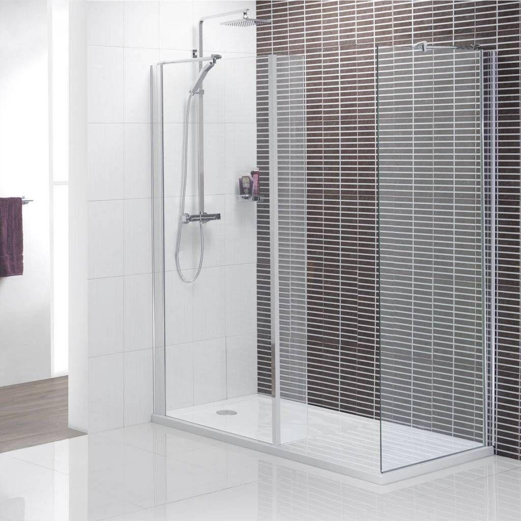 elegant-black-striped-wall-tile-for-minimalist-walk-in-shower-ideas ...