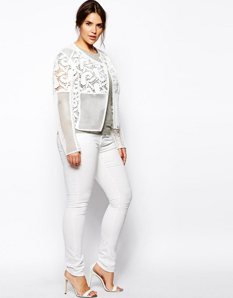 Gotta Have It: ASOS Curve Premium Lace Jacket #gottahaveit