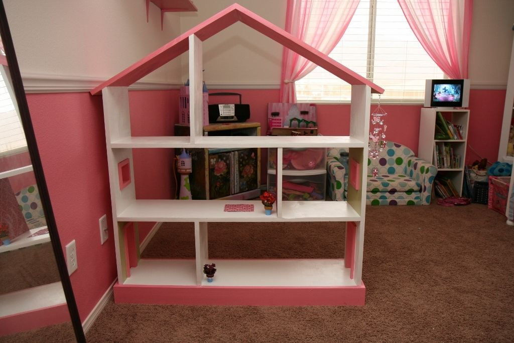 Bookcase Dollhouse Ana White (With images) Dollhouse