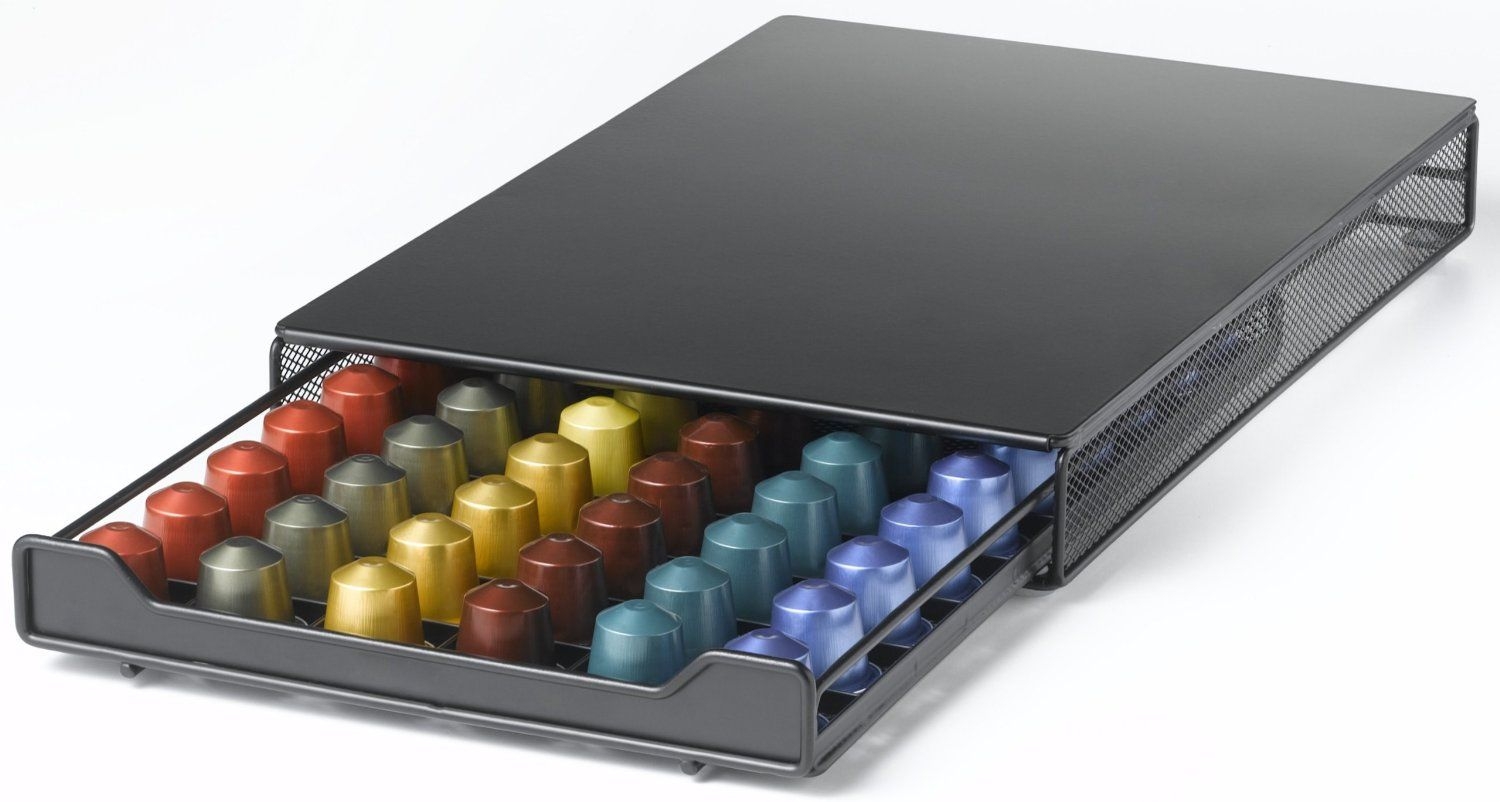 Nifty Nespresso Capsule Drawer Holds  Nespresso Capsules You Can Get Additional Details