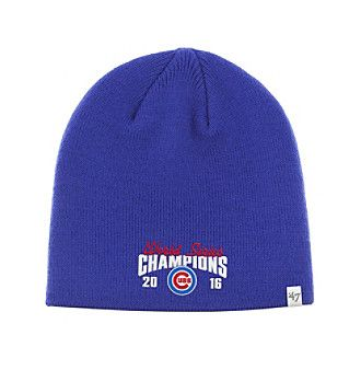 ... order 47 brand mlb chicago cubs mens world series champions beanie  ba91b 9d20d 49611d1655c