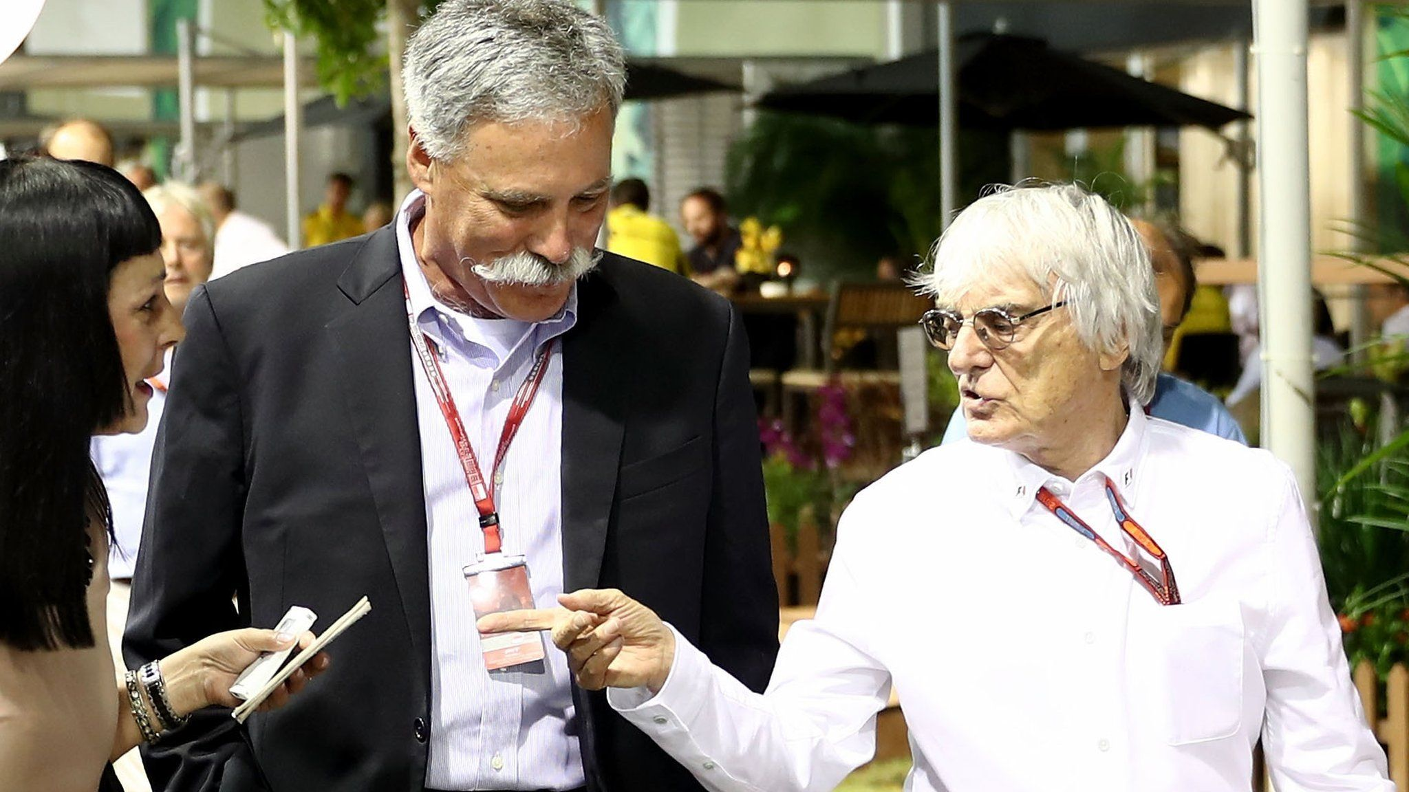 Chase Carey New Formula 1 chairman says sport 'can't be a