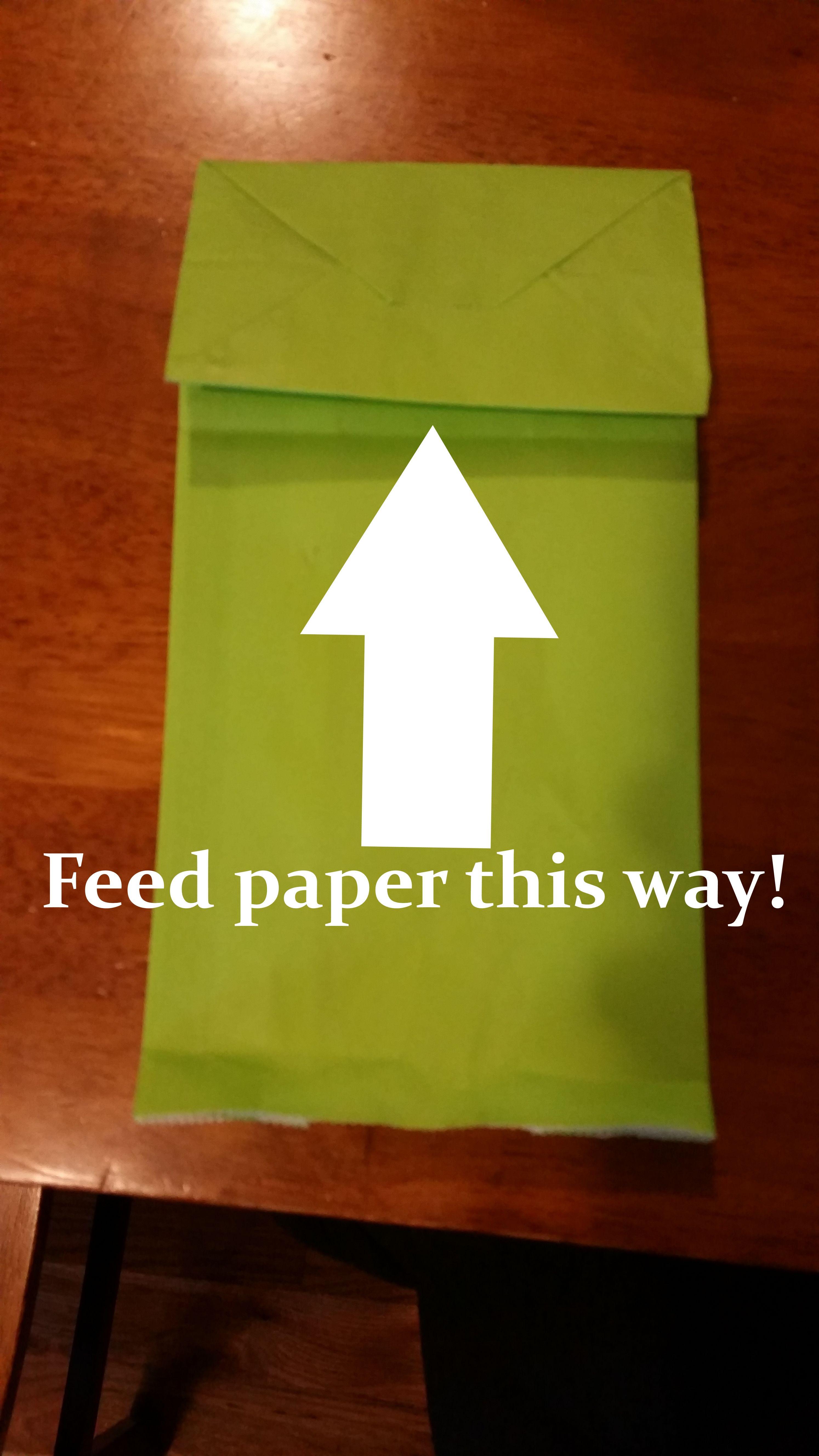 Free Printable Minecraft Creeper Favor Bag Template