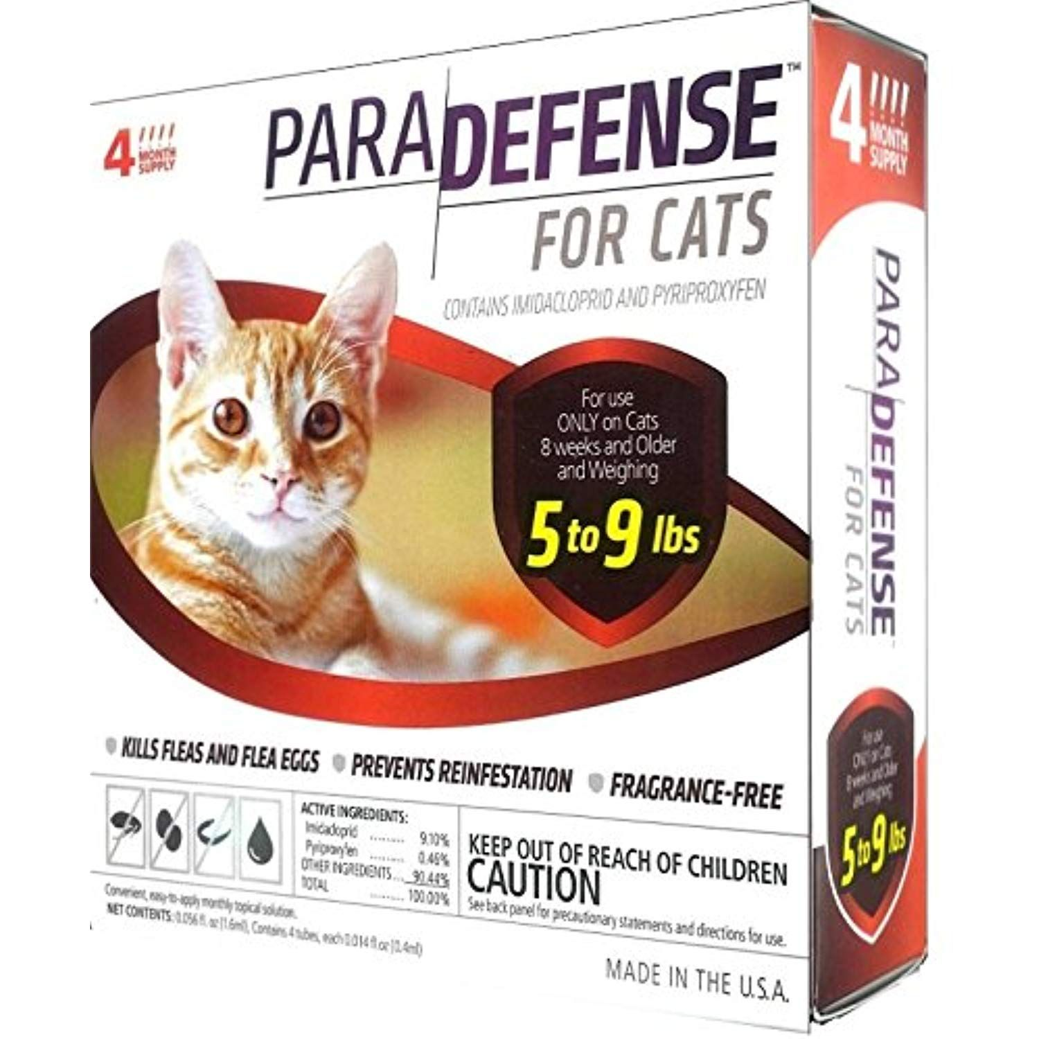 Para Defense 5 1 9 Lb Cat Pet Flea Control Supply Small For More Information Visit Image Link This Is An Affiliate Link Flea Control Fleas Pets Cats