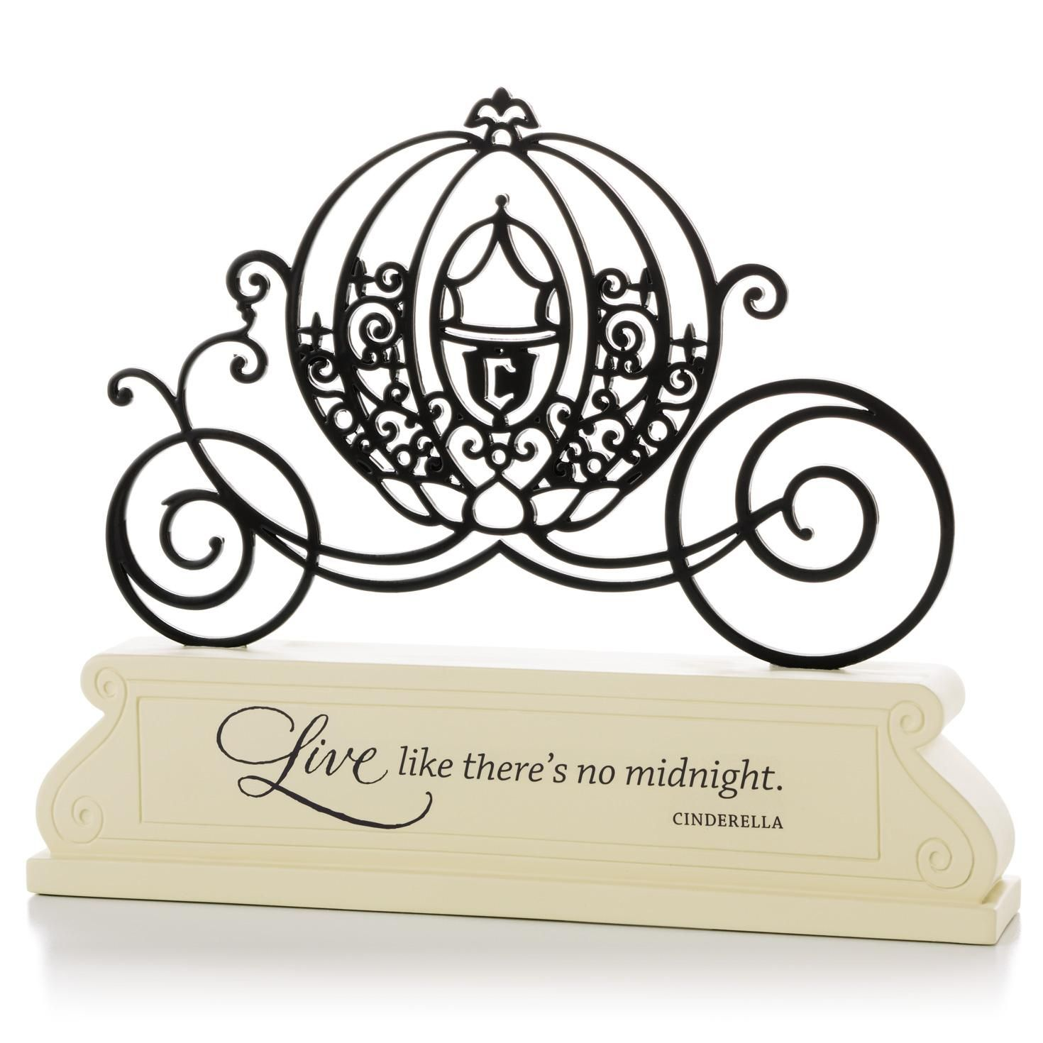 Cinderella Carriage Silhouette - Encouragement Decorative ...