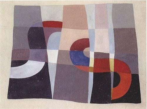 Sophie Taeuber Composition en forme de S / S shaped composition Gouache sur papier / Gouache on paper 26 x 35 cm 1927