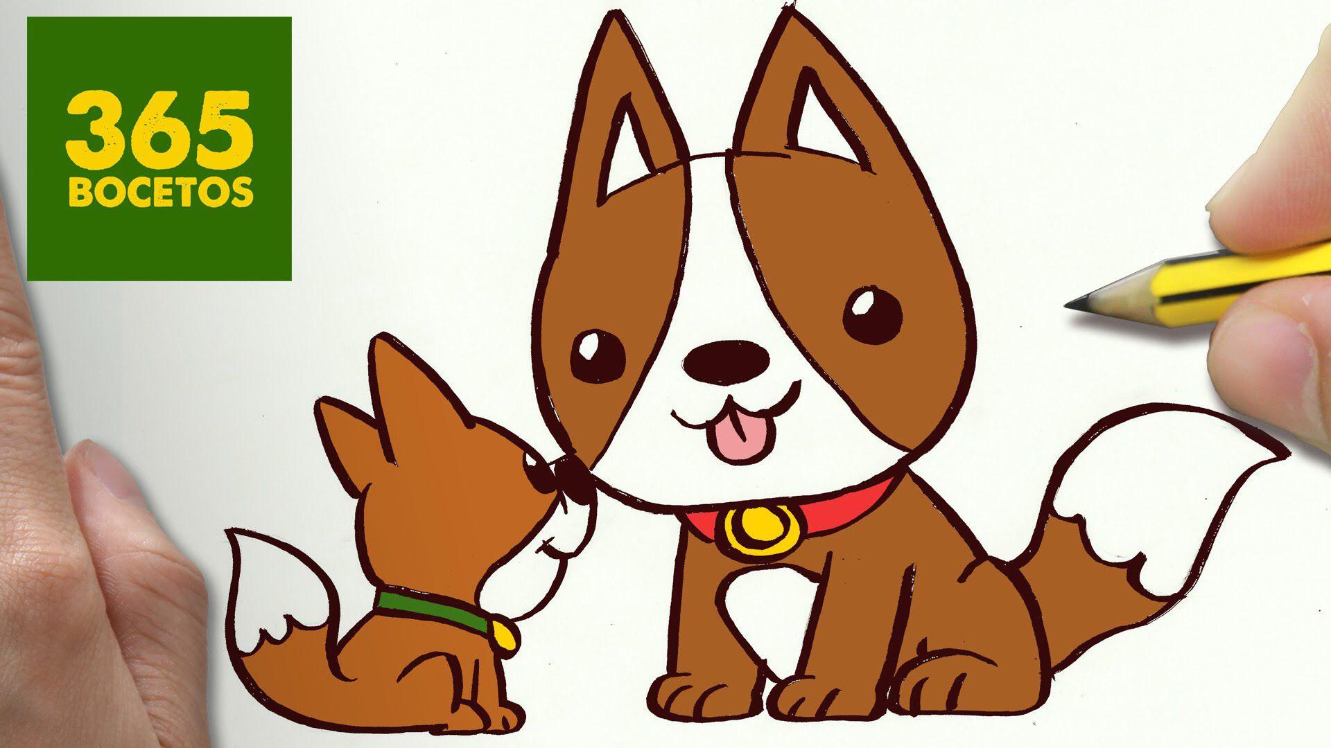 Son Muy Carinos Los Perros Dibujos Kawaii Faciles Dibujos