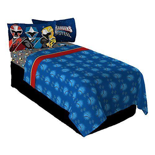 Power Rangers Ninja Steel Twin Sheet, Rangers Double Bedding Set