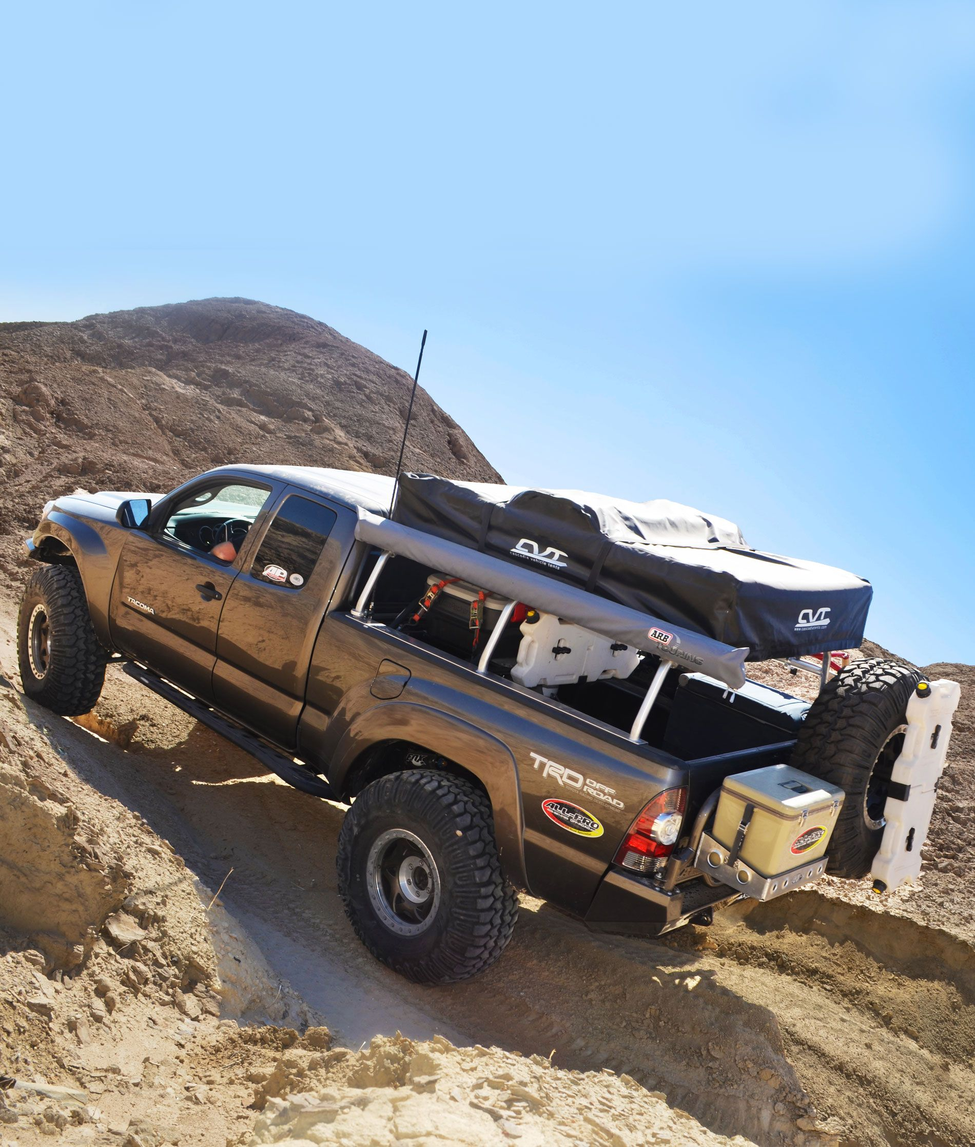 05 15 tacoma apex steel pack rack kit all pro off road