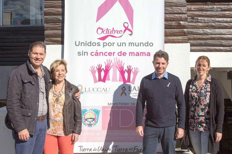 #Charla abierta por el Día Mundial de la lucha contra el cáncer de mama - El Diario del Fin del Mundo: El Diario del Fin del Mundo Charla…