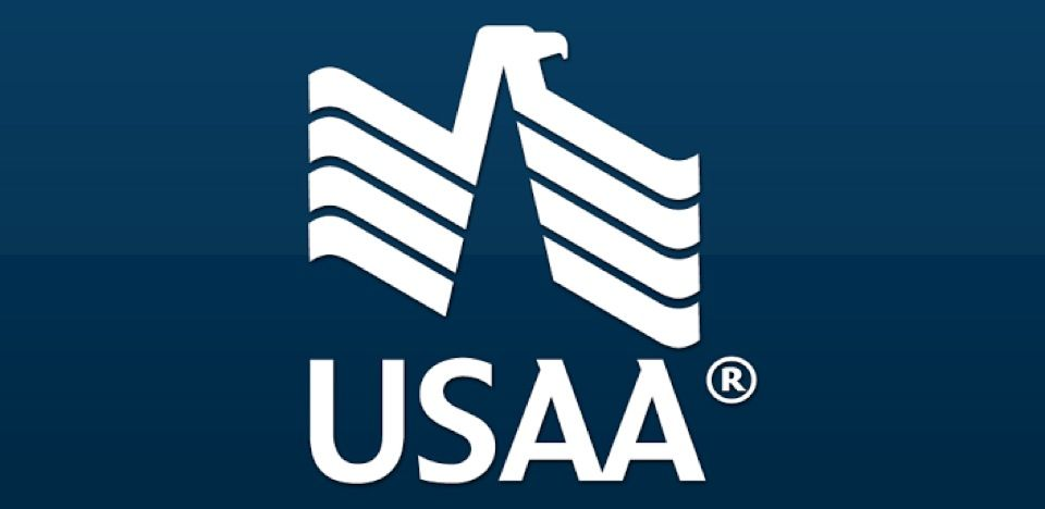 USAA Banks logo, Insurance ads, Small business accounting