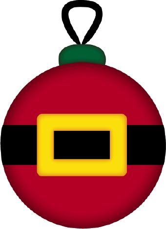 christmas ornament santa clip art navidad pinterest clip art rh pinterest com christmas ornaments clip art free christmas ornament clip art images