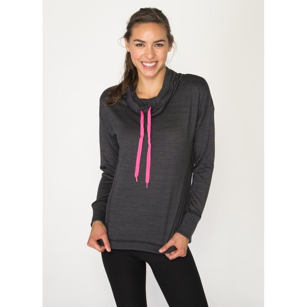 Prime Lightweight Sweater Cowl Neck Pullover