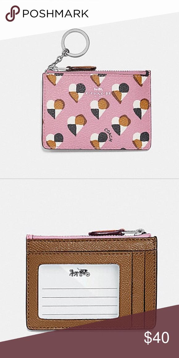 90bce5ab377 Spotted while shopping on Poshmark  NWT Coach Mini wallet id!  poshmark   fashion  shopping  style  Coach  Handbags