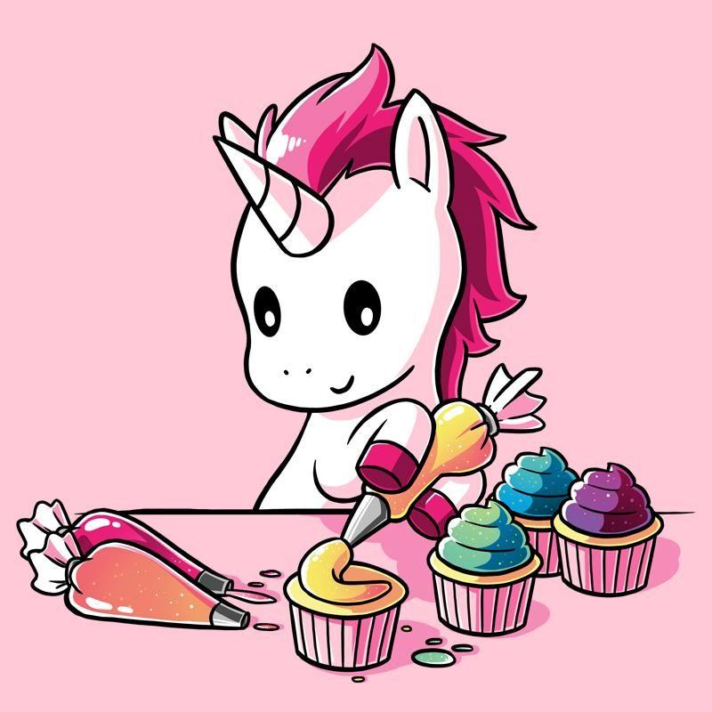Rainbow Cupcakes - T-Shirt / Mens / M | Cute drawings ...