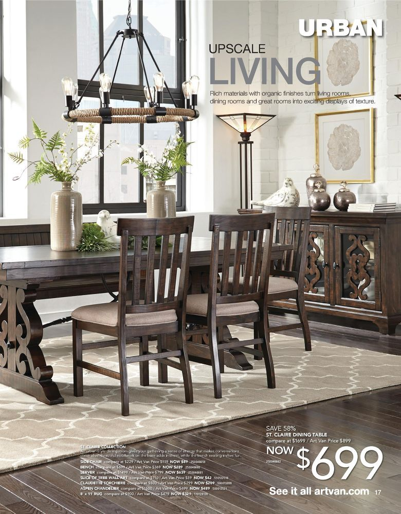 Art Van Furniture 2017 Fall Home Sale Catalog Pinterest Catalog