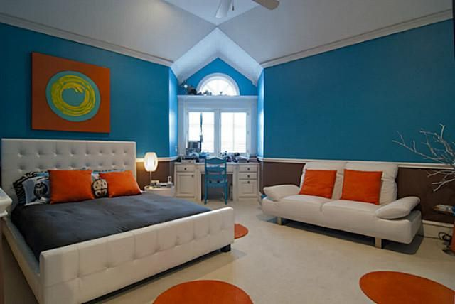 Bold Colors For Kids Room
