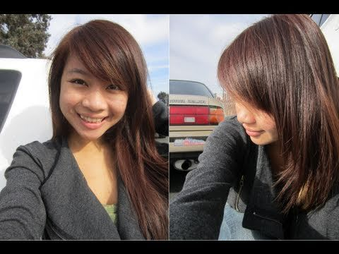 How To Dye Hair Revlon Colorsilk Light Ash Blonde On Black Hair