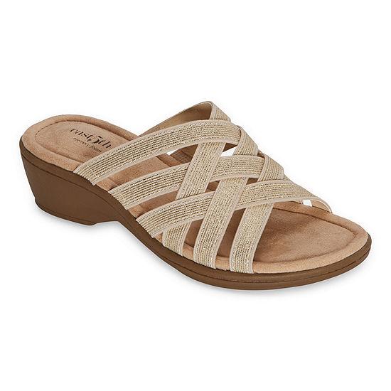 east 5th Womens Irma Wedge Sandals