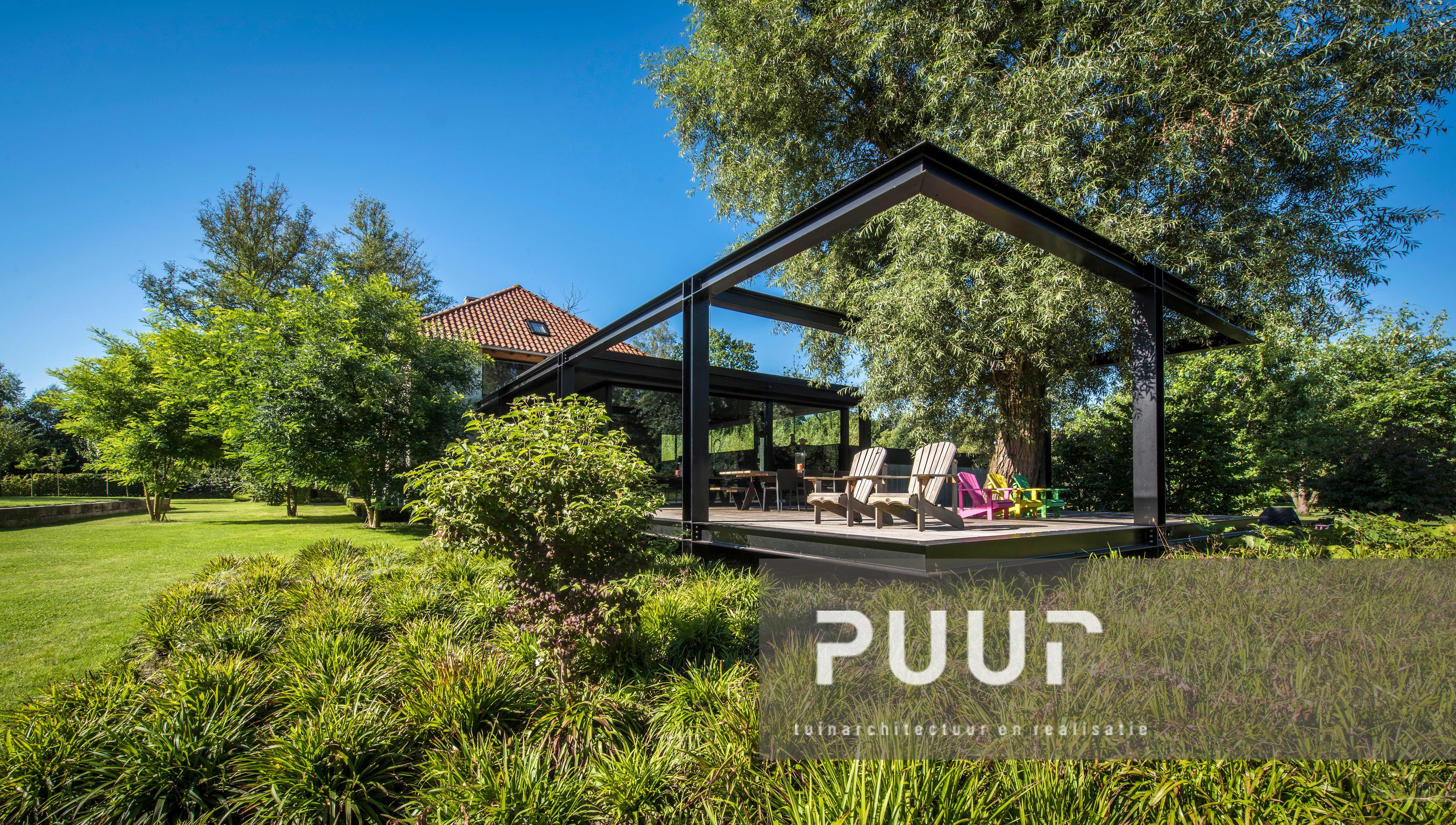 Strakke tuin met watertafel puur groenprojecten tuinarchitectuur