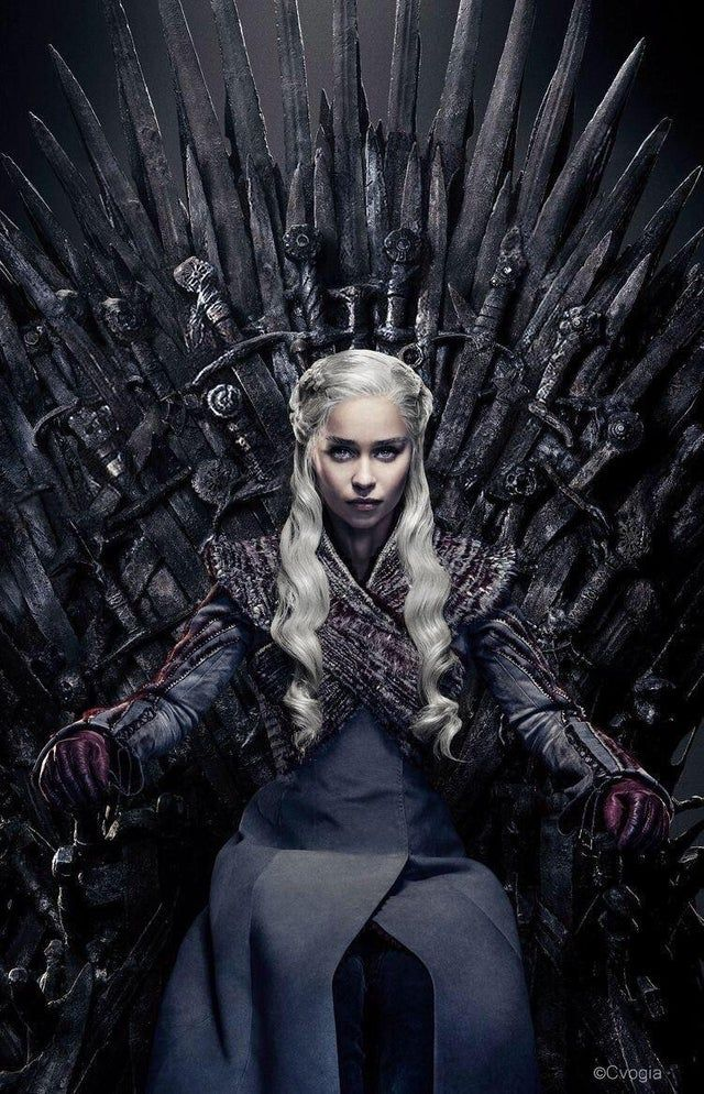 DaenerysWinsTheThrone Game of thrones poster, Game of