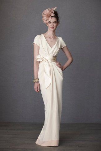 Wedding gowns for older brides over 40 wedding dress for Sophisticated wedding dresses older brides