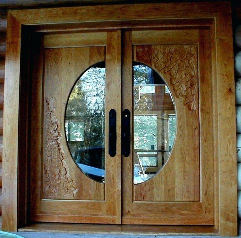 ابواب منازل اشكال ابواب خشب داخلية وخارجية للشقق قصر الديكور Double Entry Doors Double Front Doors Wood Doors