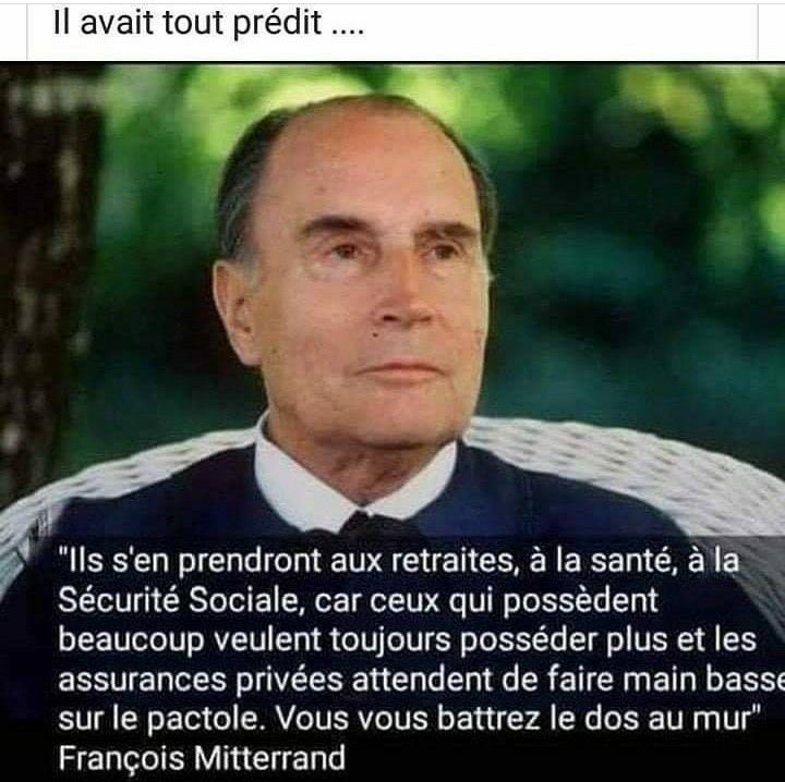 Proverbe Anniversaire Il Avait Vu Juste Monsieur Mitterrand Memes Quotes Humor Inspirational Quotes