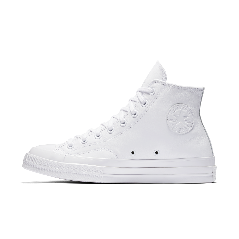 a7adc966751d Converse Chuck Taylor All Star  70 Mono Leather High Top Shoe Size 11.5  (White) - Clearance Sale