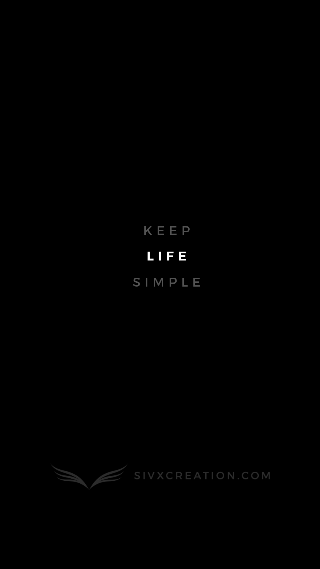 Keep Life Simple Motivational Quote Keep Life Simple Happy Words Wise Quotes